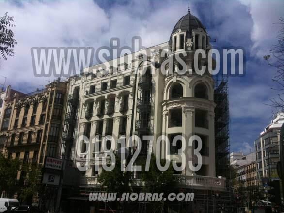 REHABILITACIÓN DE FACHADA DE HOTEL